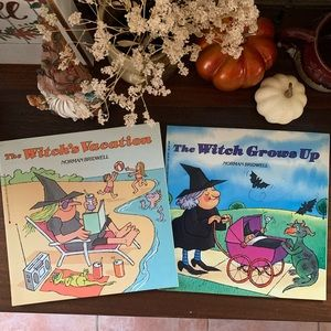 SALE! 💜Set of 2 Vintage Witch Children's Books 💜